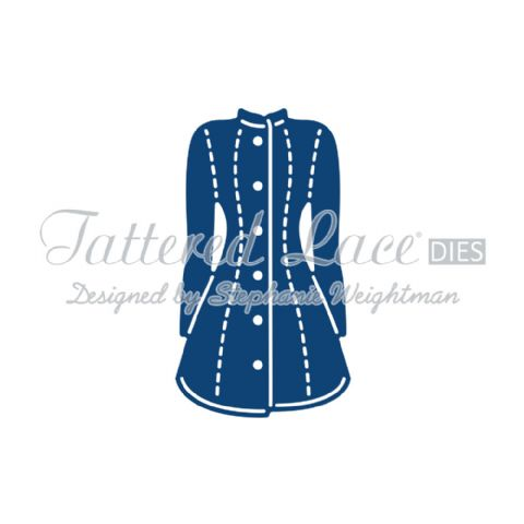 Tattered Lace Die Bella's Coat - D717